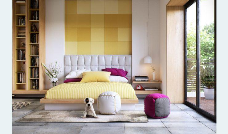7 پلان برای چیدمان اتاق خواب