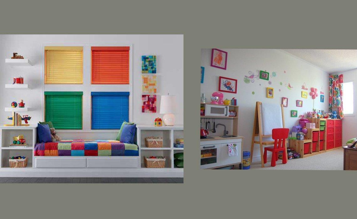 ایده خلاقانه دکوراسیون اتاق کودکان نابینا