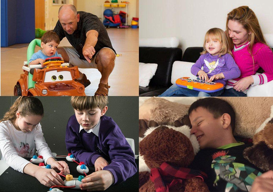 دکوراسیون اتاق برای کودکان نابینا