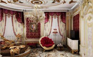 معمار آپ - معماری و دکوراسیون داخلی - Rococo style decoration 2 300x184