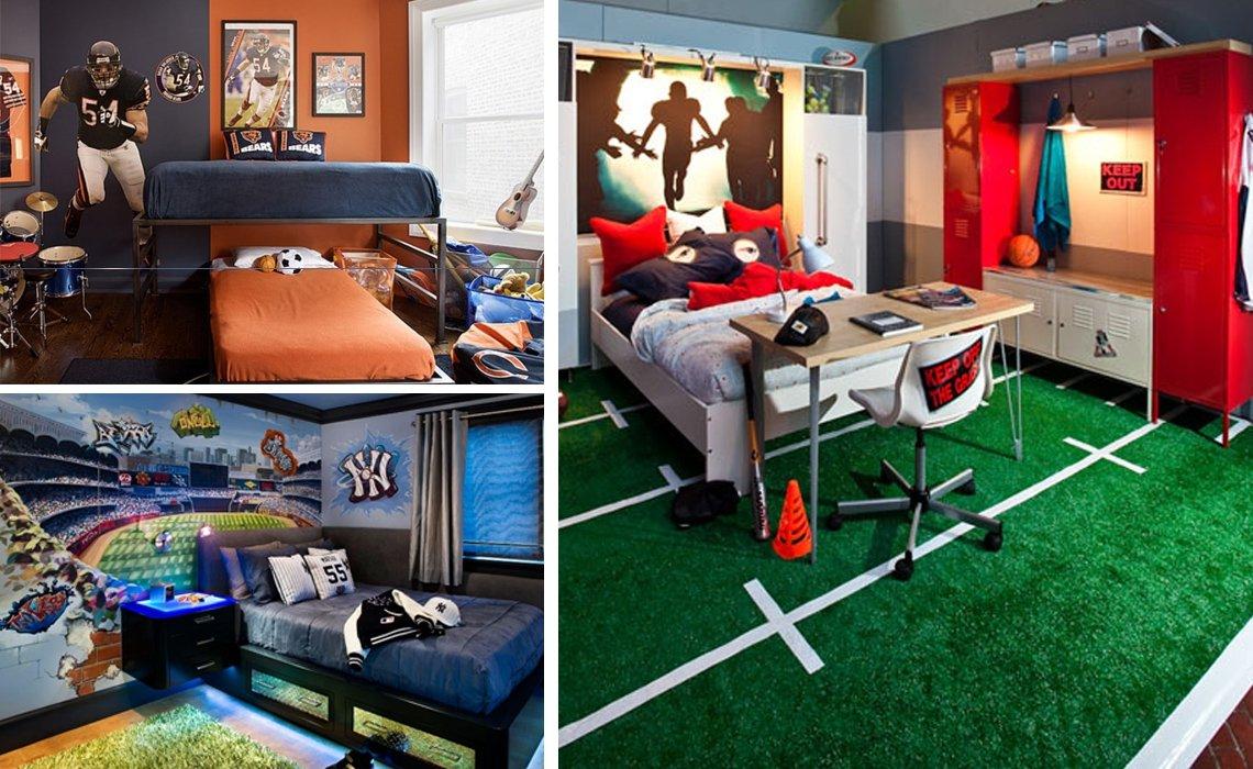 طراحی اتاق خواب پسران نوجوان