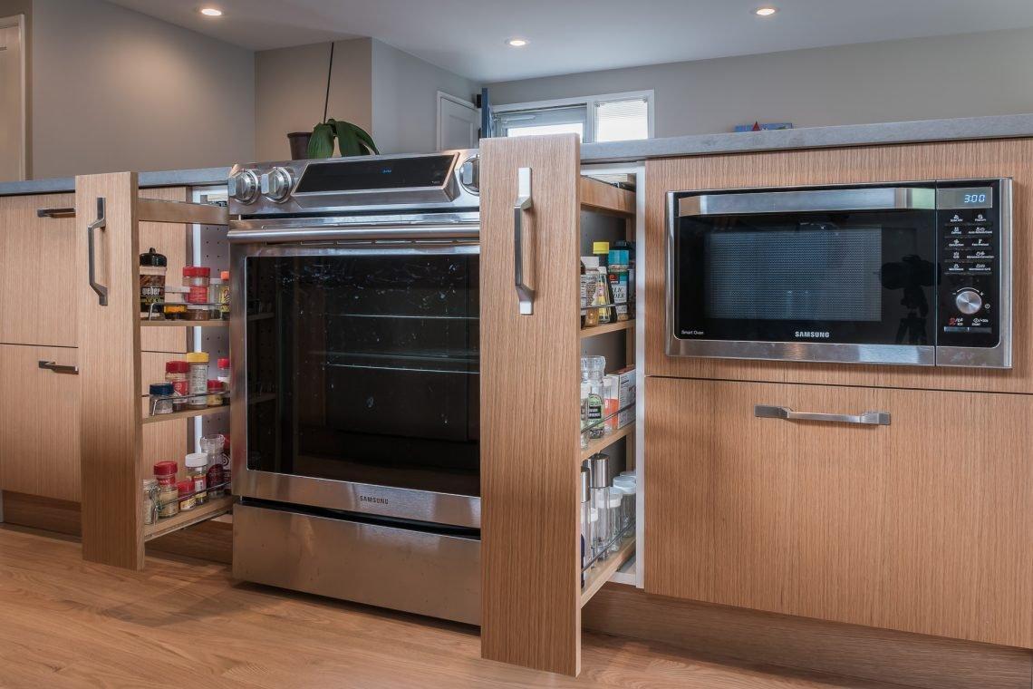ایده های افزایش فضایذخیره سازی آشپزخانه