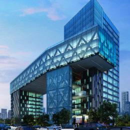 دانلود مجموعه صحنه آماده سه بعدی ساختمان و طراحی محوطه