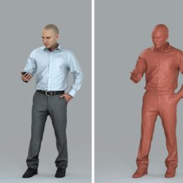 دانلود مجموعه مدل سه بعدی آدم در حالت های مختلف