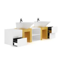 مجموعه آبجکت وسایل حمام از CGAxis