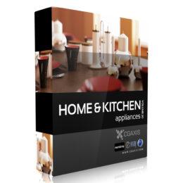 مجموعه آبجکت وسایل آشپزخانه از CGAxis