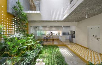طراحی خانه باغ در هندوستان