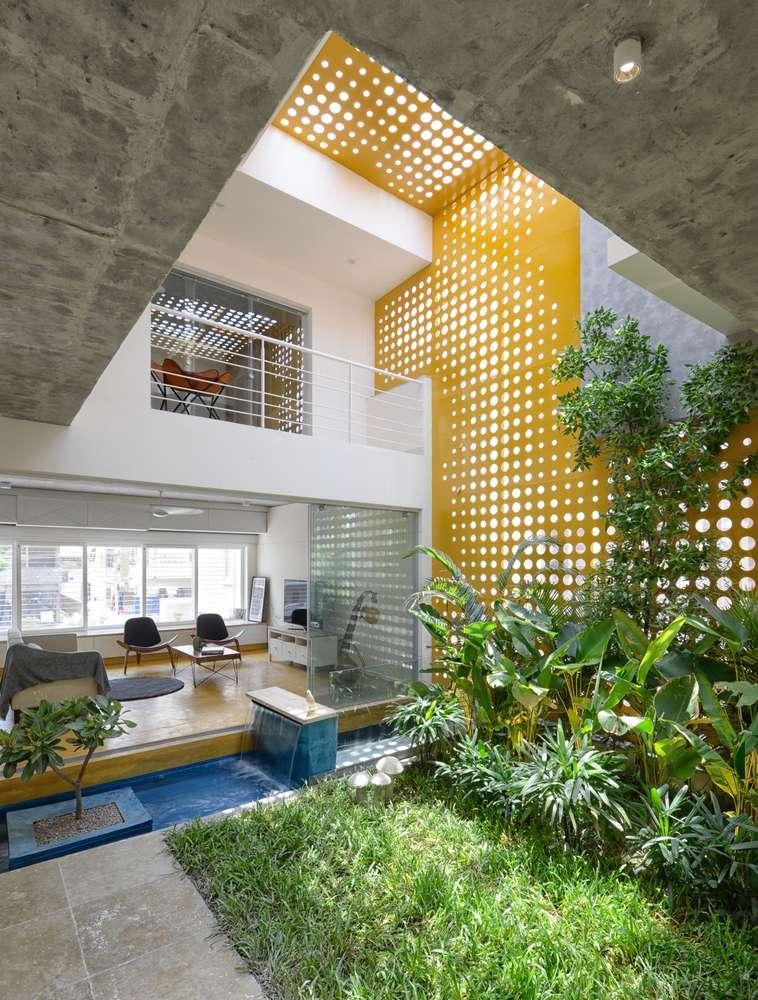 فضای سبز در آپارتمان