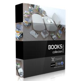 دانلود آبجکت کتاب از CGAxis