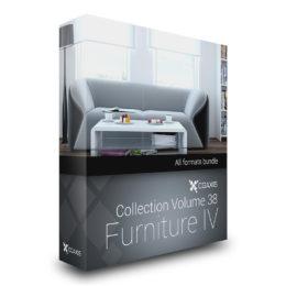 دانلود مجموعه آبجکت میز و صندلی از CGAxis
