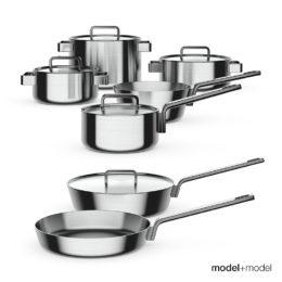 دانلود مدل سه بعدی وسایل آشپزخانه از Model+Model