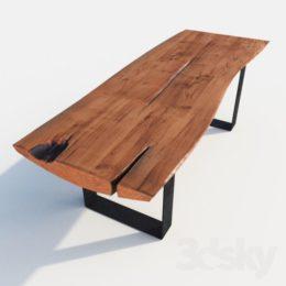 دانلود مدل سه بعدی میز از Pro 3DSky