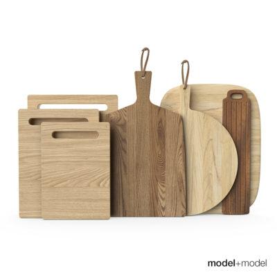 مدل سه بعدی وسایل آشپزخانه