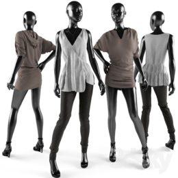 دانلود آبجکت پوشاک مردانه و زنانه از Pro 3DSky