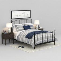 دانلود مجموعه آبجکت تخت و ست لوازم خواب