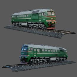 مجموعه آبجکت قطار از Vargov3d