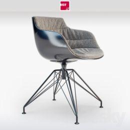 دانلود مدل سه بعدی ست صندلی مدرن از Pro 3DSky
