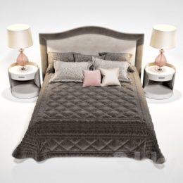 دانلود مدل سه بعدی تخت خواب از Pro 3DSky