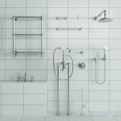 مدل سه بعدی شیرآلات حمام