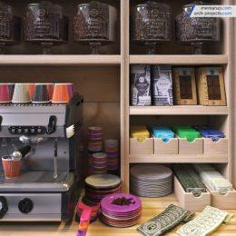 دانلود مدل سه بعدی لوازم و ظروف آشپزخانه