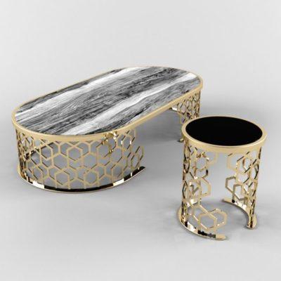 آبجکت میز و صندلی مدرن