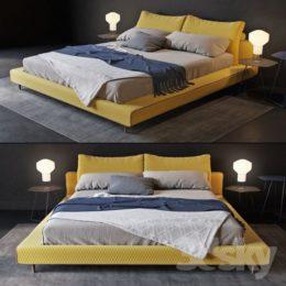 دانلود آبجکت تخت خواب از Pro 3DSky