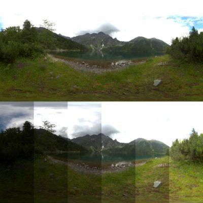 تصویر HDRI منظره