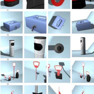 مدل سه بعدیوسایل فروشگاه