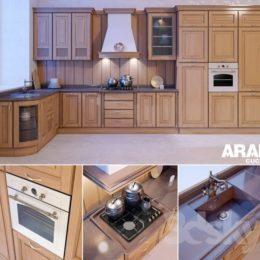 دانلود مدل سه بعدی ست آشپزخانه