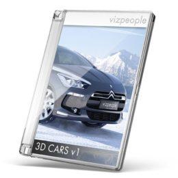 دانلود مجموعه آبجکت اتومبیل از VizPeople