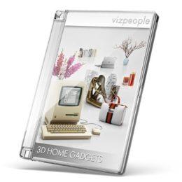 دانلود مجموعه آبجکت لوازم تزئینی از VizPeople