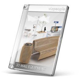 دانلود مجموعه آبجکت تجهیزات فروشگاه از VizPeople