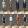 مدل سه بعدی لباس و کفش