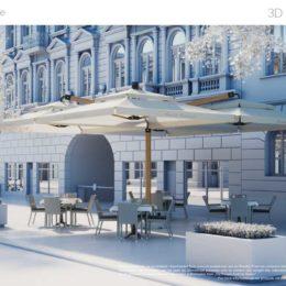 دانلود مجموعه مدل سه بعدی وسایل خیابان از VizPeople