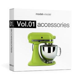 دانلود مجموعه آبجکت وسایل تزئینی منزل از Model+Model