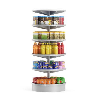 مدل سه بعدی لوازم سوپرمارکت