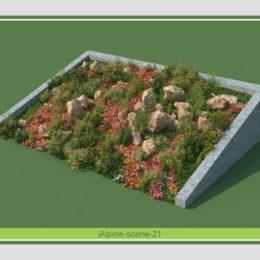 دانلود رایگان آبجکت بوته و درختچه تزئینی از R&D Group