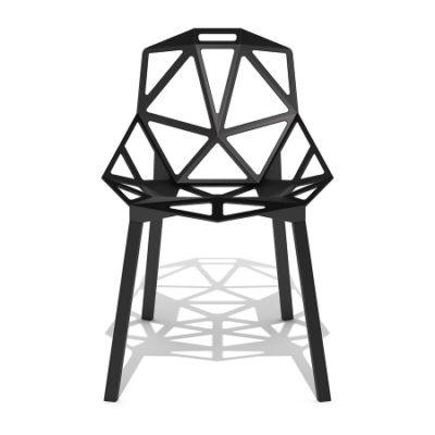مدل سه بعدی میز و صندلی مدرن