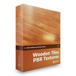 تکسچر کاشی چوبی PBR