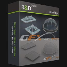 دانلود مجموعه آبجکت وسایل پشت بام از R&D Group
