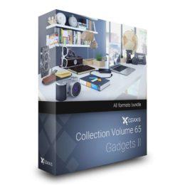 دانلود مجموعه مدل سه بعدی وسایل اداری از CGAxis
