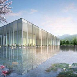 دانلود آبجکت نما و محوطه ساختمان از Crystal CG