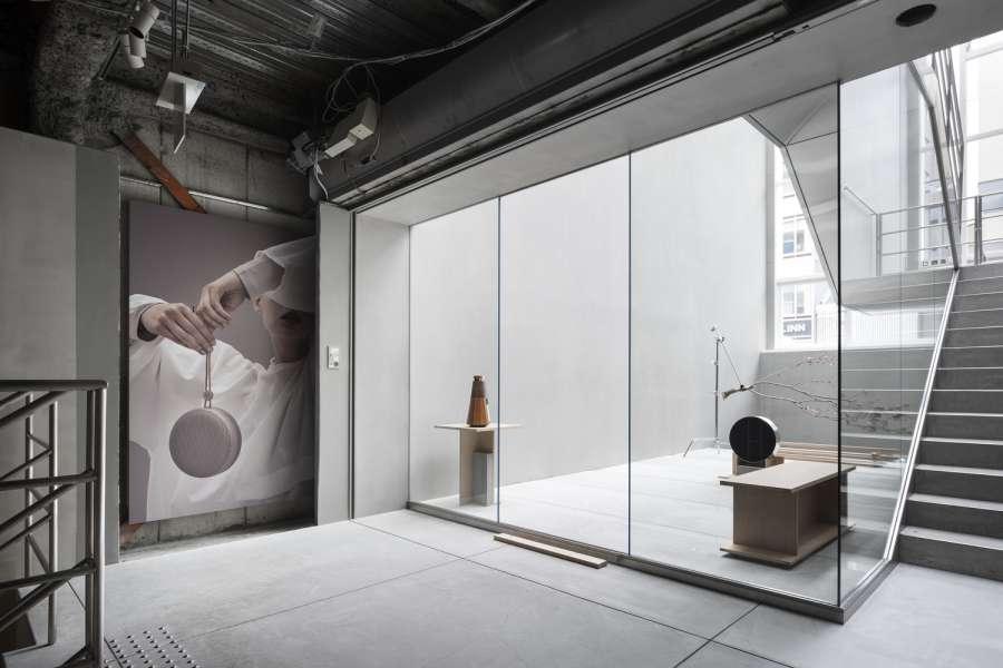 طراحی فروشگاه لوازم صوتی