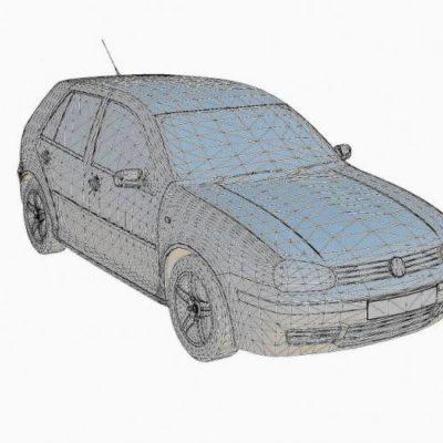مدل سه بعدی فضای بیرونی