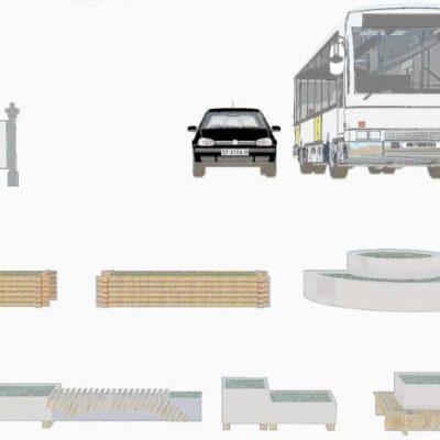 آبجکت فضای خارجی معماری