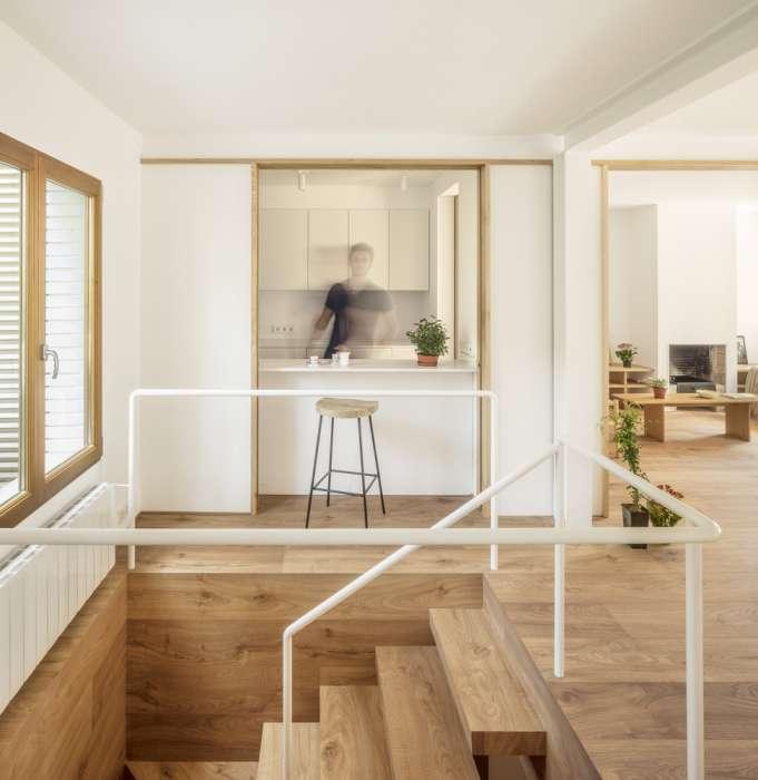 طراحی داخلی باغ آپارتمان