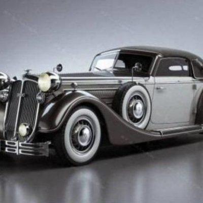 مدل سه بعدی اتومبیل اسپرت و کلاسیک