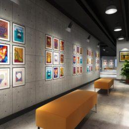 دانلود صحنه آماده نمایشگاه و فضای اداری ازGlobal Masterwork