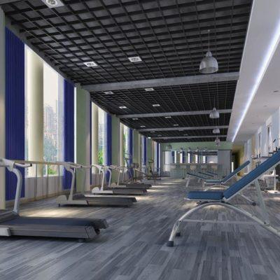 مدل سه بعدی طراحی داخلی هتل