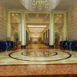 دانلود صحنه آماده داخلی هتل از Global Masterwork
